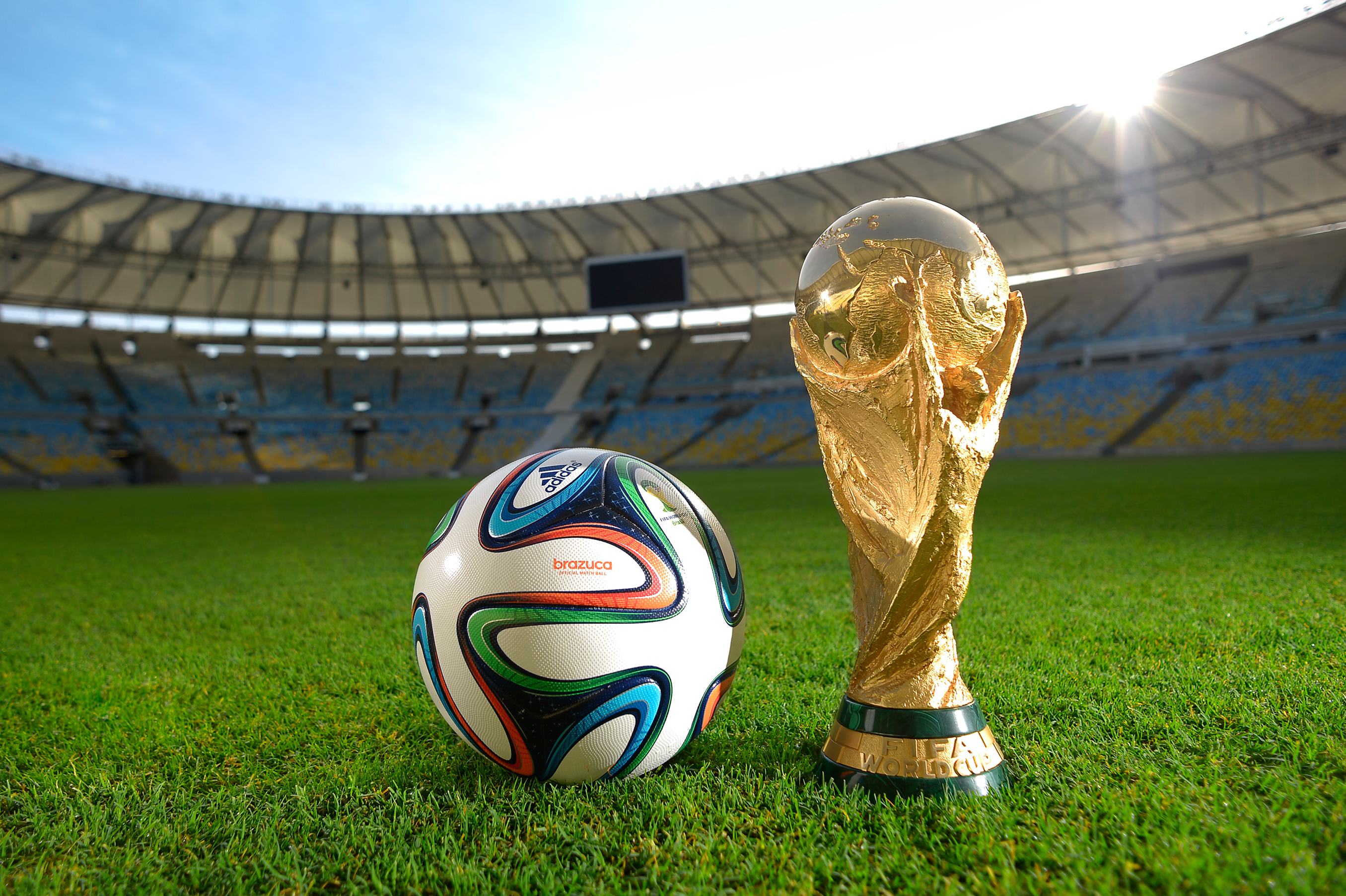 World Cup favorites - Germans and Brazilians