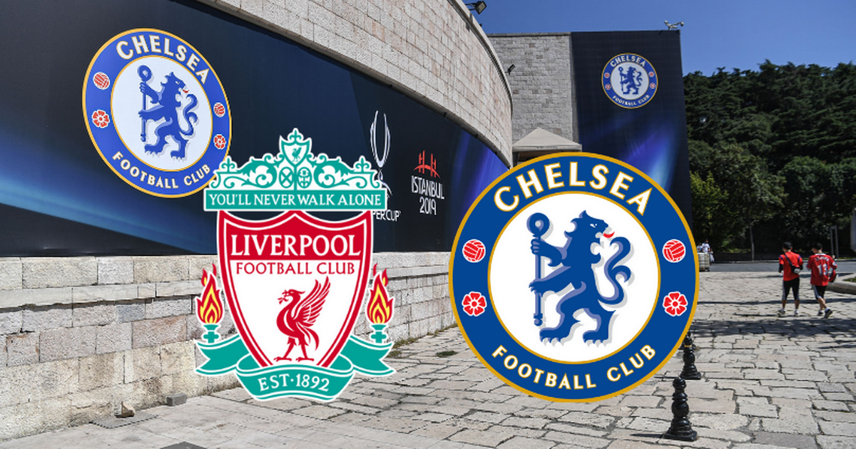 UEFA Super Cup between Liverpool and Chelsea!