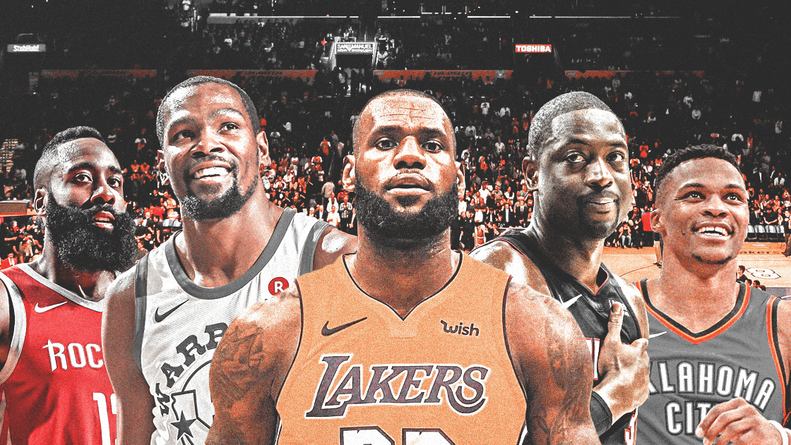 The NBA favorites are getting a little bit sluggish